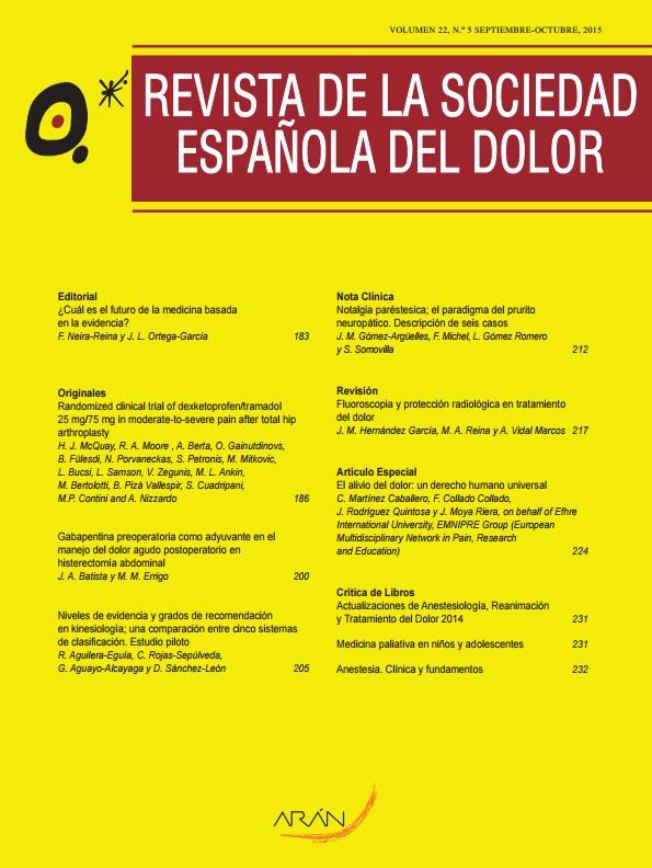 Año 2012 / Volumen 19 / Número 5